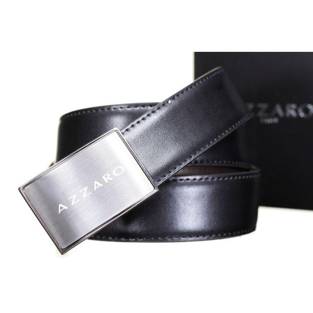 09a8af77703a Azzaro - 21203 Reversible Noir Marron - pas cher Achat   Vente ...