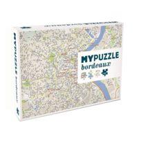 Helvetiq - Puzzle 1000 pièces : Plan de la ville de Bordeaux MyPuzzle Bordeaux
