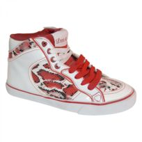 Lost Angels - Samples shoes Hi Top Snake Red Women