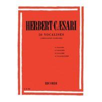 Ricordi - Méthodes Et Pédagogie Herbert-caesari E 50 Vocalises - Chant Chant
