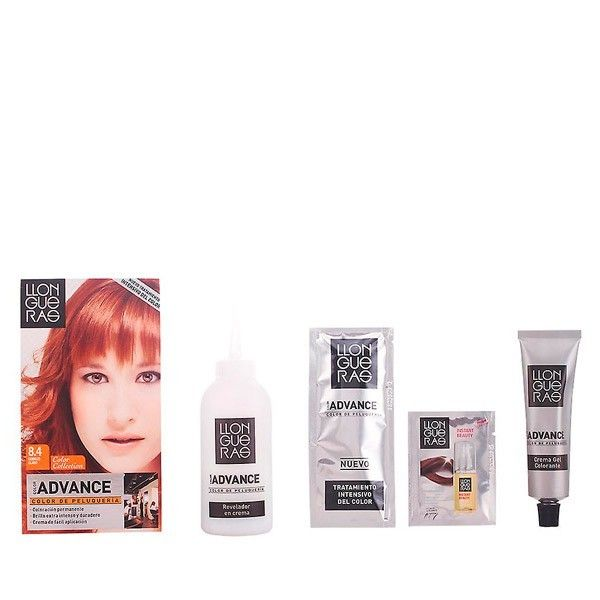 No Name Llongueras - Llongueras Color Advance hair colour 8,4-light copper
