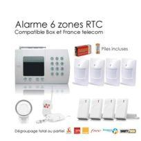 SecuriteGOODdeal - Alarme maison sans fil de 6 Zones Xl Box