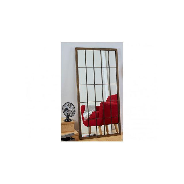 Marque Generique Miroir Fenêtre Atelier Nicael L 76 X