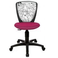 Topstar - Chaise de bureau enfant / Siège de bureau enfant Swa Scool motif cheval rose