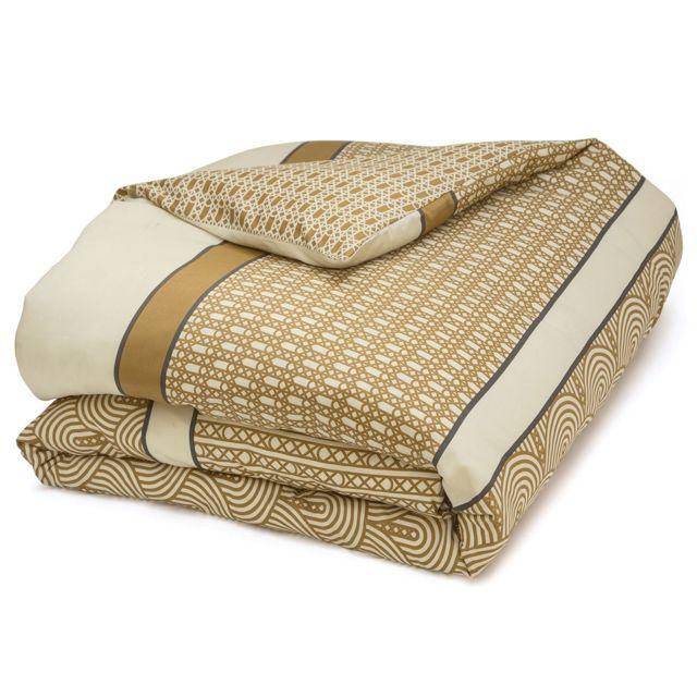 tradition des vosges housse de couette nathalie pas cher achat vente parures de lits. Black Bedroom Furniture Sets. Home Design Ideas