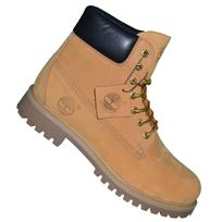 Timberland - En Solde - Chaussures Boots 6 In Premium Tb1 - Wheat Nubuc Jaune Blé