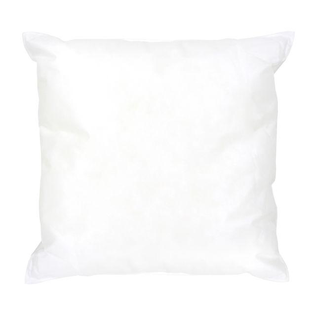 polyester Blanc l 40 x L 40 cm 4 Coussins de garnissage en fibre creuse