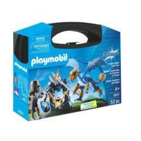 PLAYMOBIL - Valisette Chevalier et dragon bleu - 5657