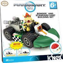 K'Nex - T71935 - Maquette - Figurine - Kart Building Set - Mario Kart Wii And Standard - Bowser