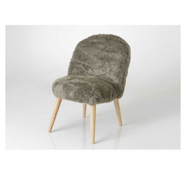 HELLIN Fauteuil CALIN taupe