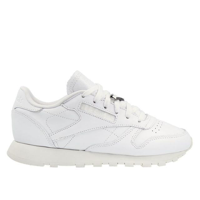 95c1aab2b08649 Reebok - Classic Leather Hardware Blanc - pas cher Achat   Vente Baskets  femme - RueDuCommerce