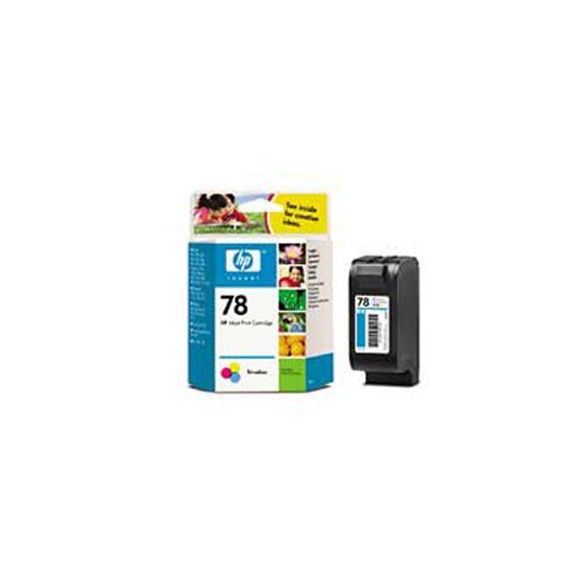 HP Cartouche d'encre 3 couleurs Cyan, Magenta, Jaune n° 78XL - C6578AE - 38 ml