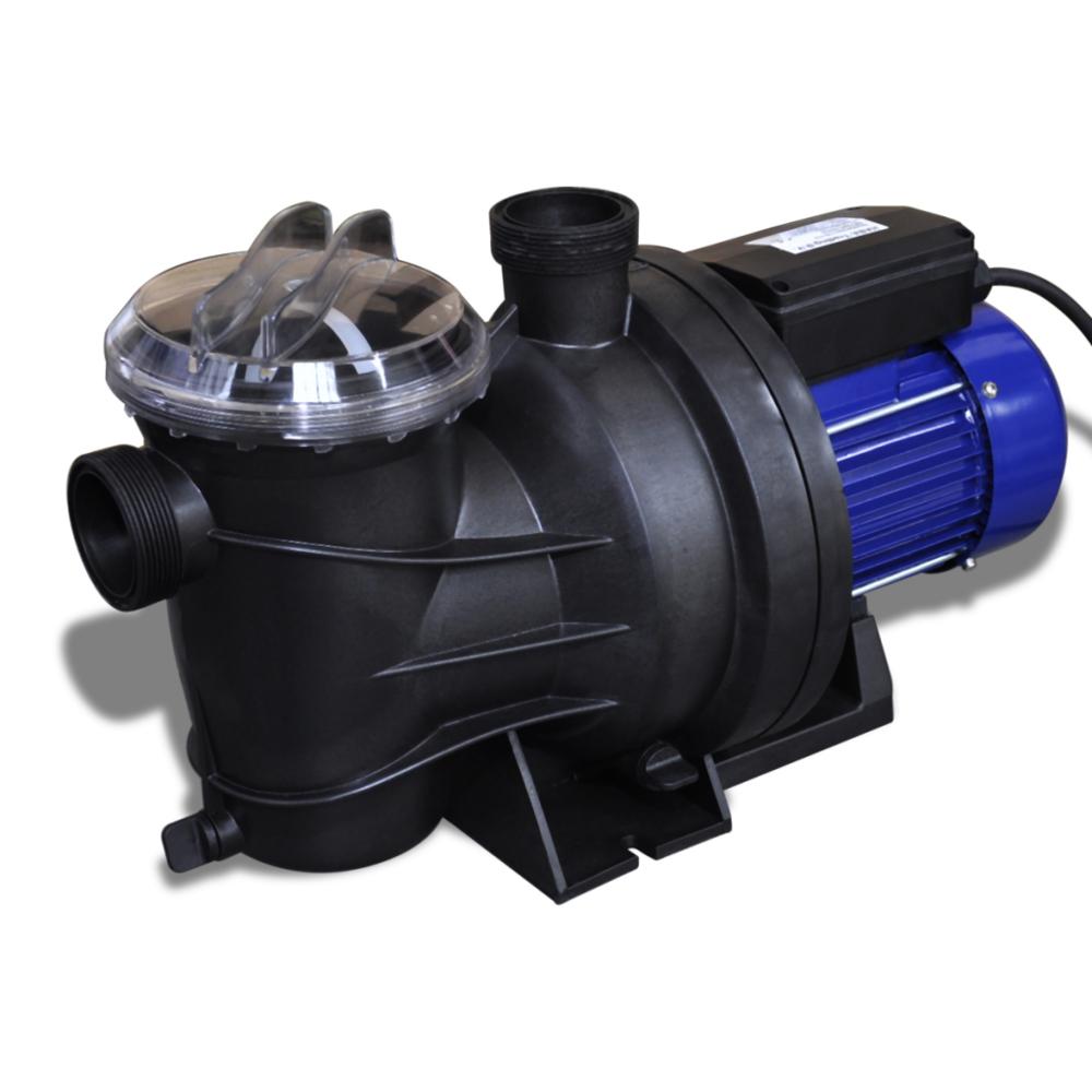 Vidaxl - Pompe filtration piscine 1200 W Bleu