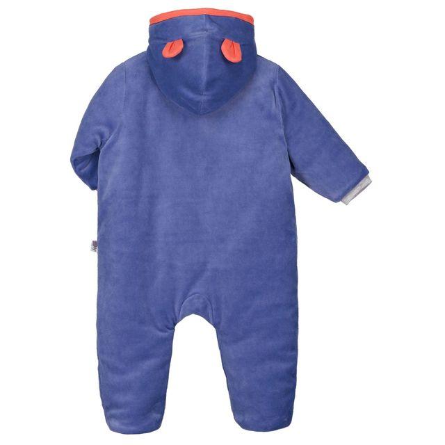 2a31b1835ffb7 Petit Beguin - Combi pilote bébé garçon Funny Pets - Couleur - Bleu ...
