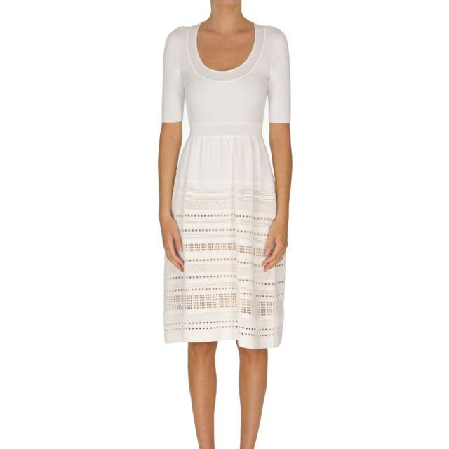 Paule Ka Femme Mcglvs00000B7088E Blanc Viscose Robe