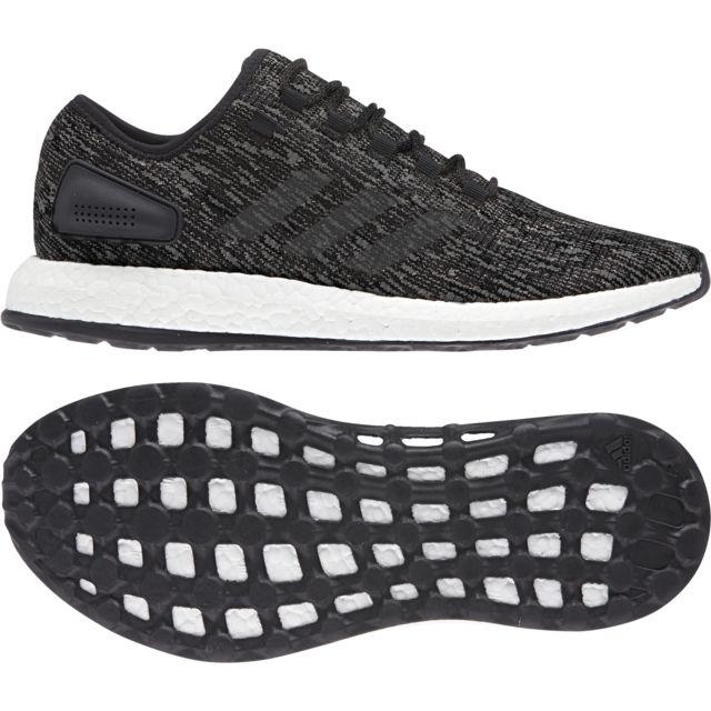 Chaussures Noirgris Adidas Foncé Pas Foncégris Pureboost Cher 8nmN0w