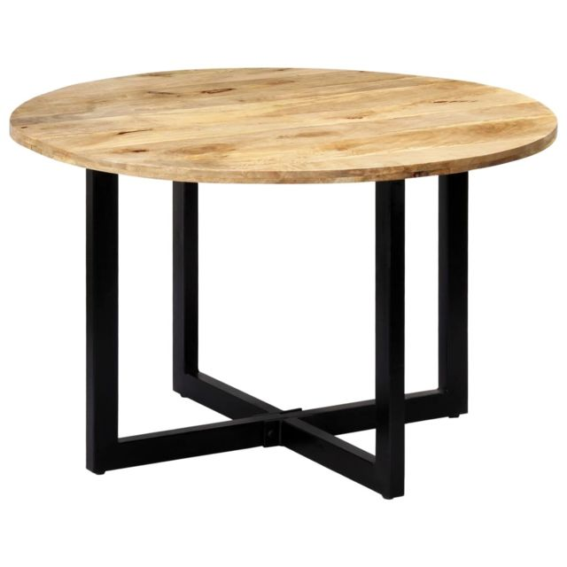 Magnifique Tables collection Georgetown Table de salle à manger 120x73 cm Bois de manguier solide