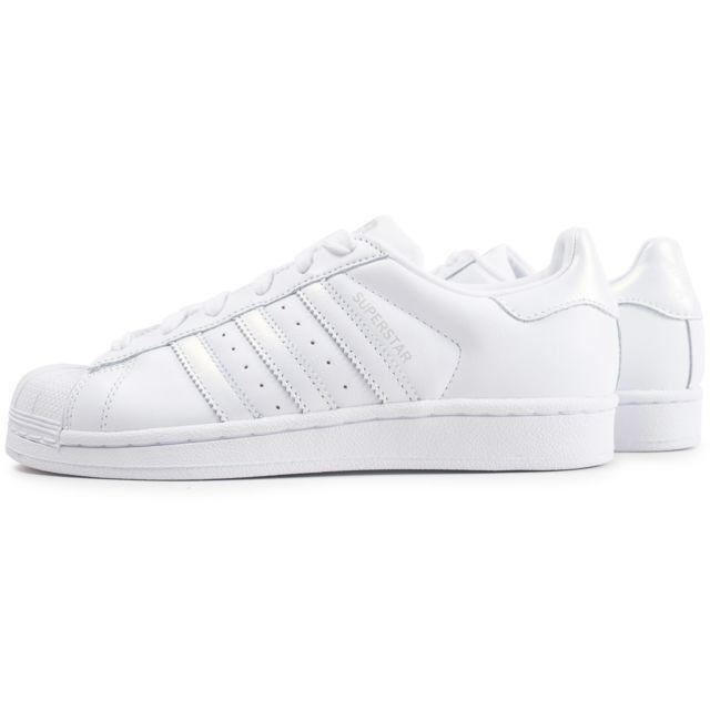 adidas blanche femme superstar