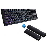 COOLER MASTER - Clavier MASTERKEYS PRO L Switches MX Brown , + Repose-poignets OFFERT
