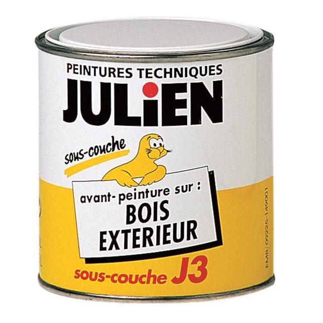 Julien - Sous-Couche Bois Extérieur Mat 2,5L - 149002 - Pas Cher