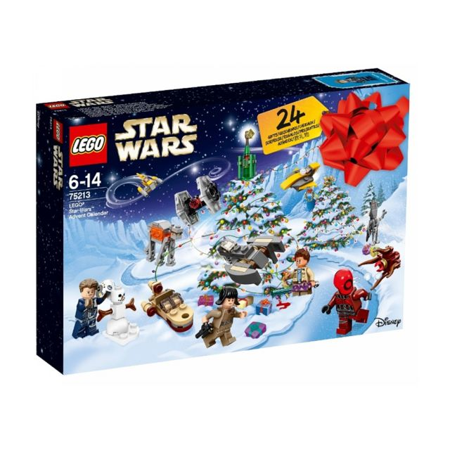 Calendrier De L Avent Lego Star Wars Carrefour.Calendrier De L Avent 75213