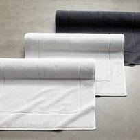 Tradition Des Vosges - Tapis De Bain Volute Eponge Coton 500g/m2 60x80cm Blanc