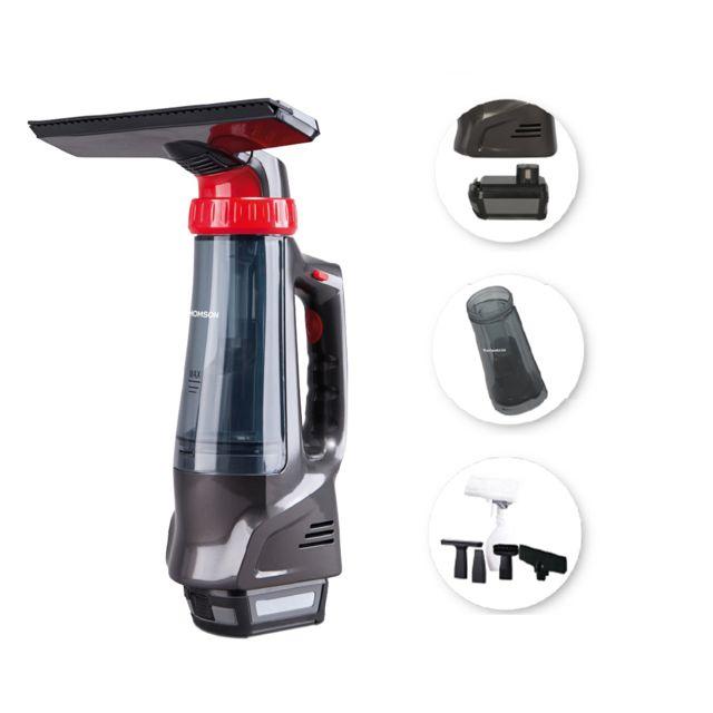 Thomson Thvc49163 - Aspirette multifonction Wet & Dry poussières, liquides, lave-vitres Capacité 120 ml- Autonomie 40 mn - Dépre