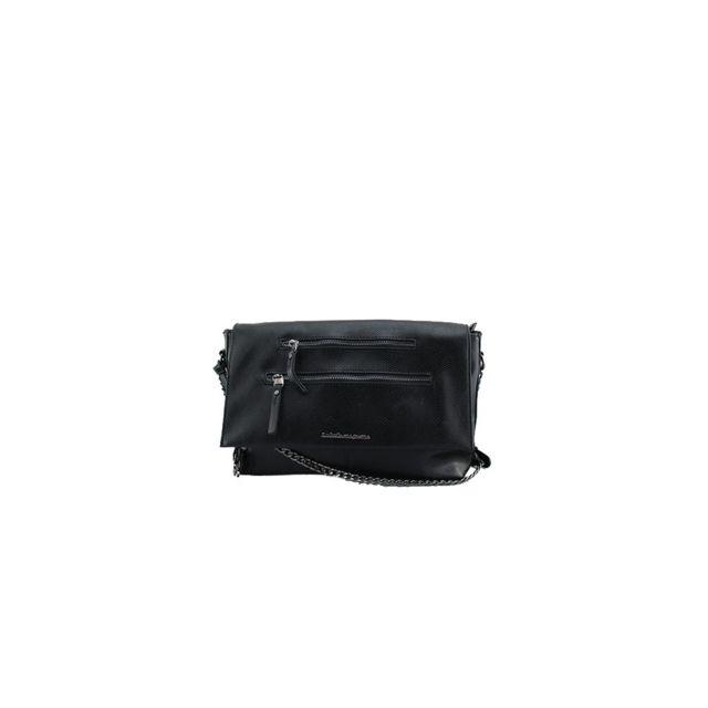 nouvelles promotions moitié prix magasin en ligne Lulu Castagnette - Sac Porté Travers Erickson Noir - pas ...