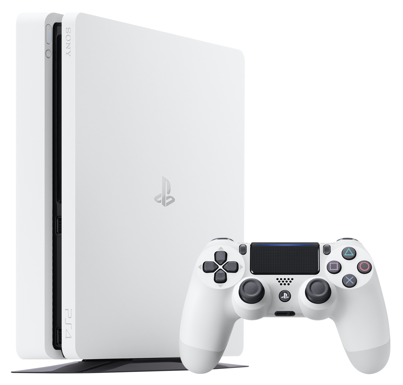 Console PS4 SLIM 500Go châssis E Blanche