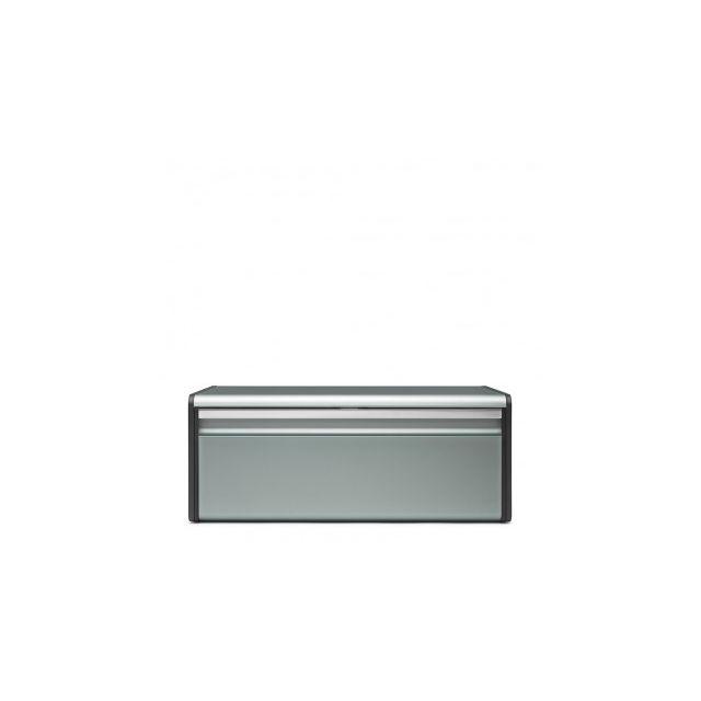 Brabantia Boîte à pain avec couvercle abattant - Metallic Mint