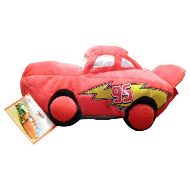UNITED LABELS - Peluche haute qualité Rayo McQueen Cars Disney T3 37cm