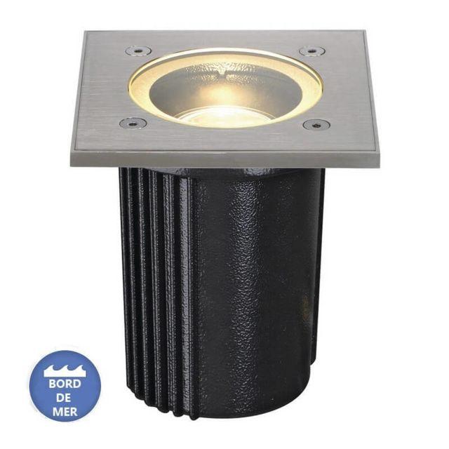Slv Luminaire extérieur encastrable Dasar Inox 316 Ip67 D11 cm - Inox