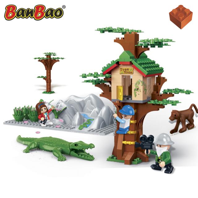 Banbao Maison dans l'arbre et animaux 6656