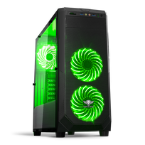 SPIRIT OF GAMER - Boîtier PC Rogue 1 - Vert