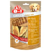 8IN1 - Friandises Grills Chiken Style pour Chien