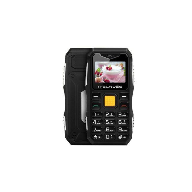 Auto-hightech Téléphone Imperméable anti poussière antichoc, 1,0 pouce, Mtk6561D, Bluetooth Anti-perte, Fm, Lampe de poche