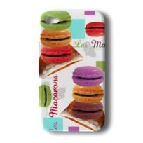Akashi - Coque Apple iPhone 4/4S Macarons