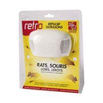 Retro - répulsif ultrasons rats souris loirs lérots 280m2 - rus3