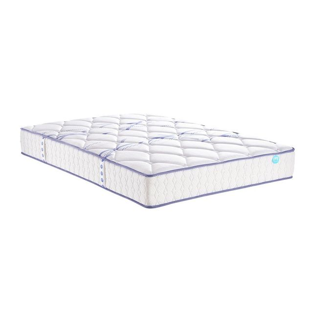 soldes merinos matelas joystic 580 ressorts 200x200 200cm x 200cm achat vente matelas pas. Black Bedroom Furniture Sets. Home Design Ideas