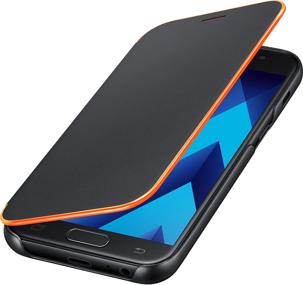 Etui Neon EF-FA320PL pour Galaxy A3 2017 Samsung Noir