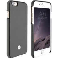 Just Mobile - Coque Quattro Leather gris pour iPhone 6s Plus