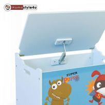 Homestyle4U - Coffre a jouets en bois Chiot