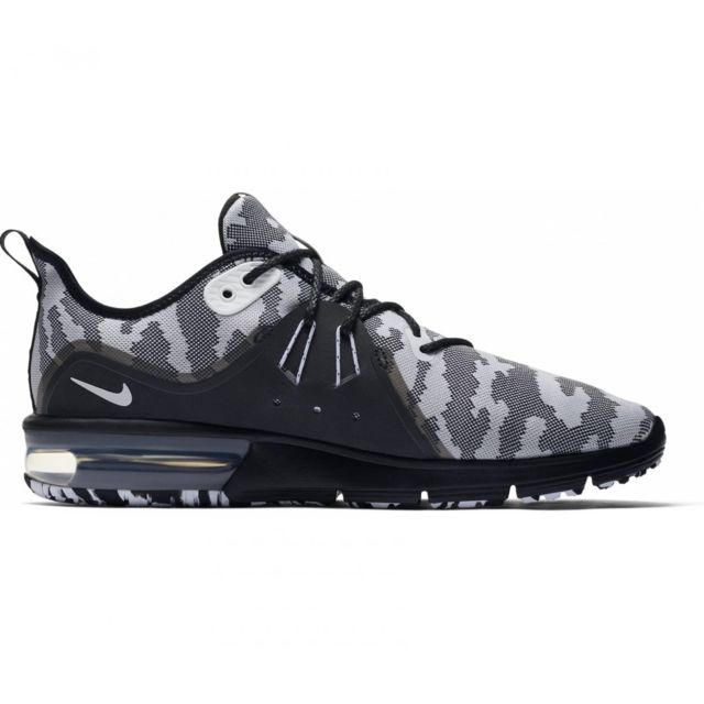 Nike Basket Air Max Sequent 3 Ar0251 001 Noir pas cher