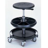 Bott - Tabouret d'atelier à roulettes h:510-770mm
