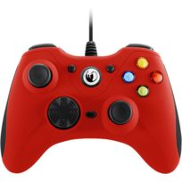 NACON - Manette filaire PC ROUGE