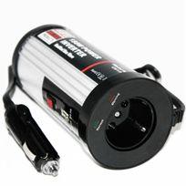 Rocambolesk - Superbe Convertisseur de tension chargeur allume cigare - 12V ; 230V + port Usb ! 300 Watt neuf