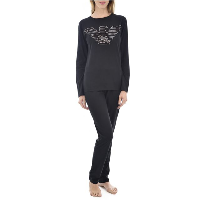 Armani Ea7 Pyjama 2pces Coton Logo 164259 9a255 - Emporio Armani