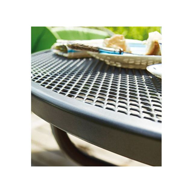 Kettler - Table de jardin rectangulaire Castello Gris en ...