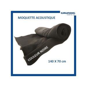 Grundig moquette accoustique noire pas cher achat for Moquette acoustique