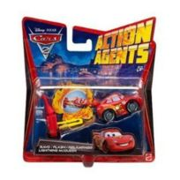 Mattel - Cars 2 - V3019 - Véhicule Miniature - Cars Véhicule Action Agent - Mcqueen